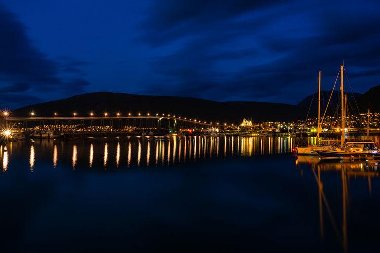 View Of Marina At Night