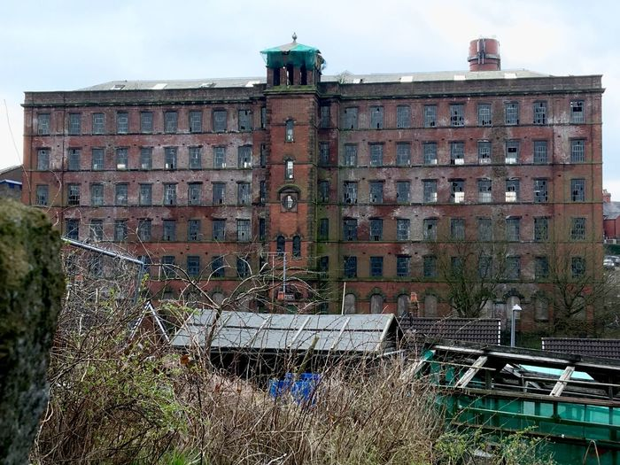 'Big Mill' Mill Street, Leek, Staffordshire, UK. Dark, satanic and derelict! Outdoors Textile Industry Textile Mill Derelict Leek Dark Satanic Mills Desolate Scene