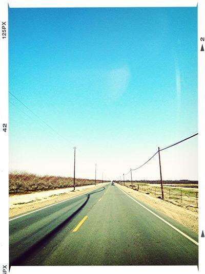 California 58, prima de la Ruta 66