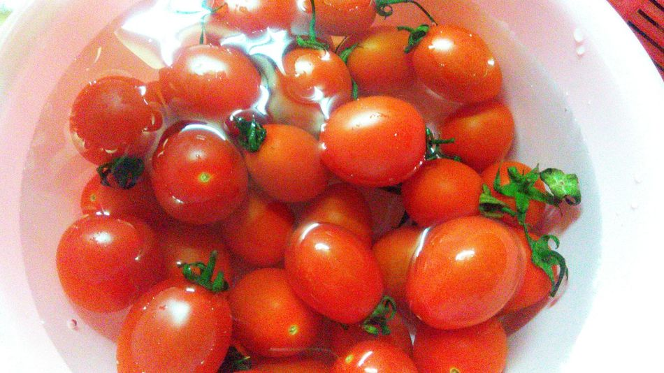 it's delicious Cherry Tomato Fruits Food Mylove Mylife