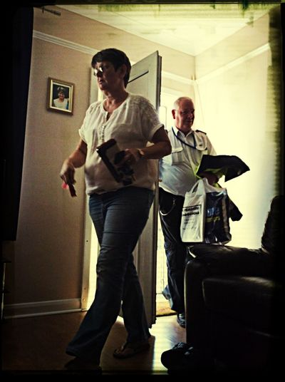Nan and grandad