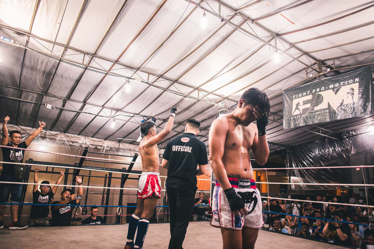 The face of defeat. Boxing - Sport Young Men Adult Shirtless Lifestyles Men Real People Young Adult Boxing Ring Sport Healthy Lifestyle Athlete Vitality People Motion Victory Defeat Muay Thai Fighting Competition Competitive Sport