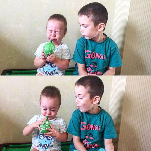 пупсики дети шарик First Eyeem Photo
