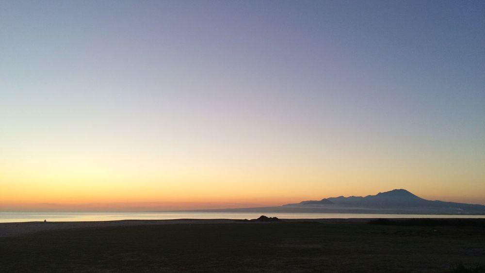 夜明け Sakaiminato Sky Sea Mt.Daisen Beach