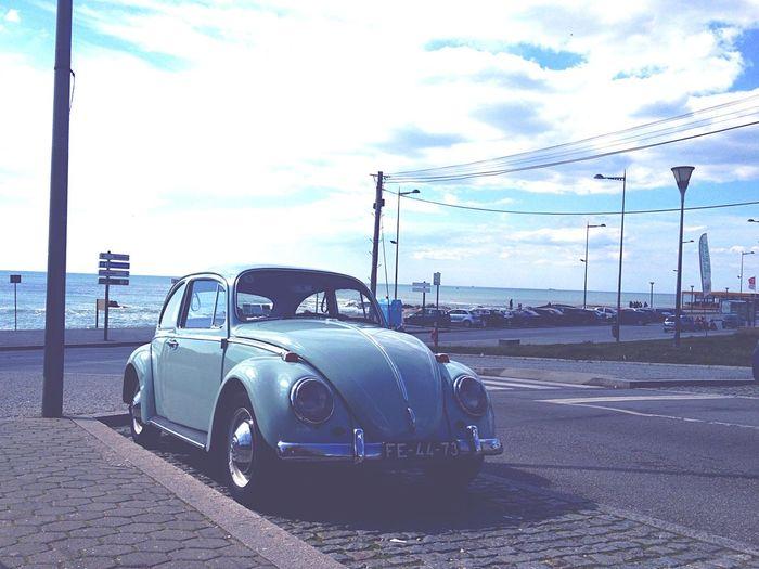 FÉ Classic Classic Car Carocha Blue Vintage Vintage Cars Oldschool