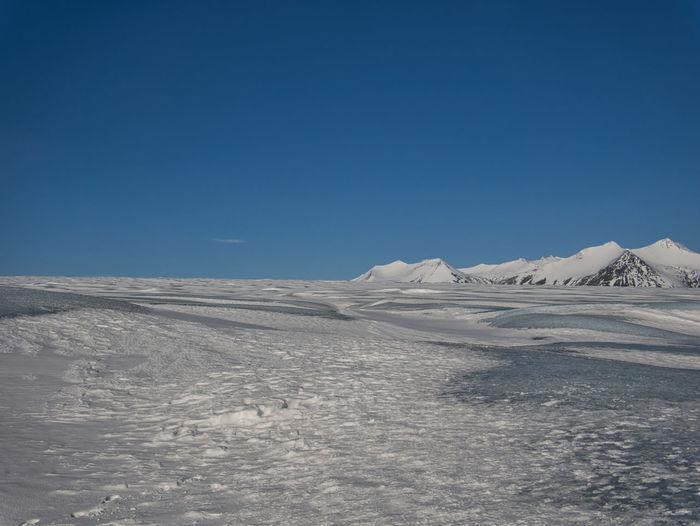 A glacier hike