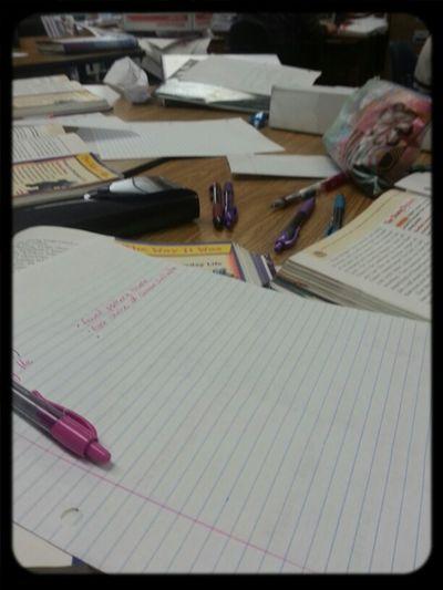 My Messay Desk