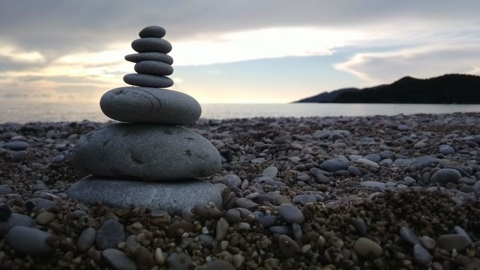 Relaxing Being A Beach Bum Enjoying The Sun Sunshine Sea Cooling  Waiting Justthinking Stone Beachphotography