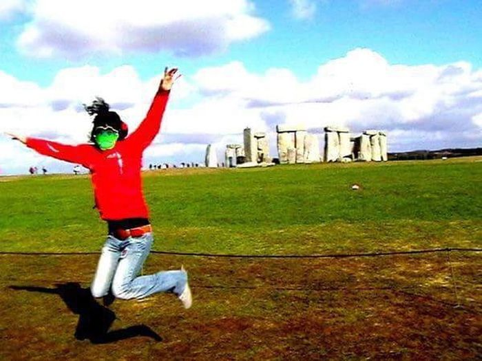 PlacesOfMagic Stonehenge Special Place Energy Streetart Mystery Universe Sky England🇬🇧 Mysterious Star The Secret Spaces