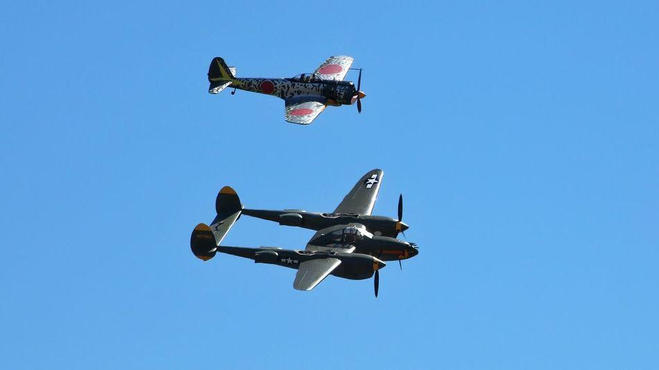 oscar and p38 lightning Photography Vintageaircraft Warbirds Aircraft