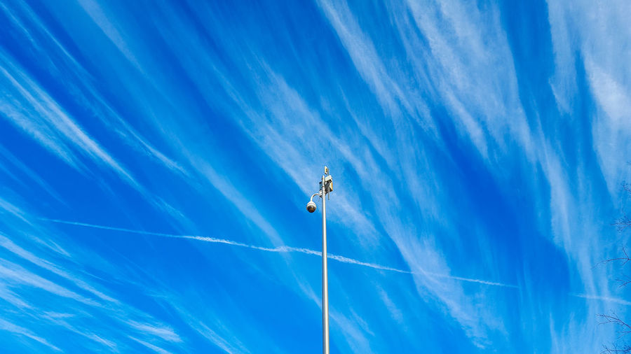 Blue Full Frame No People Outdoors Nature Backgrounds Close-up Day Sky EyeEmNewHere Chattanooga Security Camera Dramatic Sky Tennesse Cloud - Sky Skylovers Clouds And Sky Cloudscapes City Landscape Cityscape Watching Above View Minimalism Photography Minimalism_masters