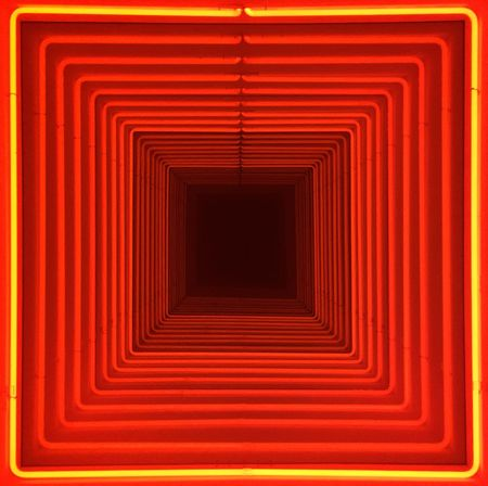 Abstract Architecture Backgrounds Close-up Day Full Frame Illuminated Indoors  Museo Del Novecento No People Red Symmetry