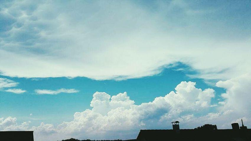 Wolkenhimmel Relaxing Chilling
