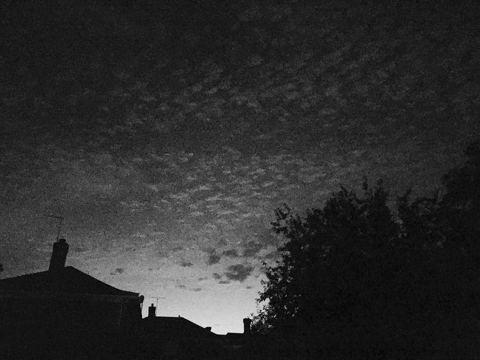 Herring bone sky