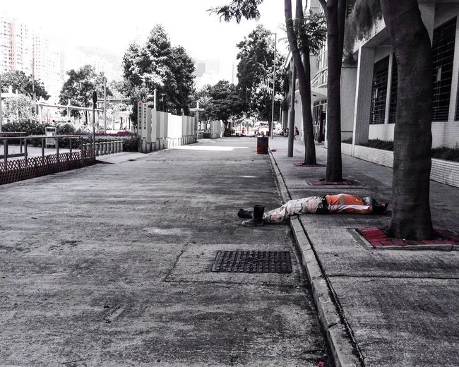 Orange Is The New Black Blackandwhite Streetphotography Urbanphotography Streetphoto_bw Snapshot Nap Time Alone Empty Places Free Better Look Twice Telling Stories Differently Night Night, Sleep Tight