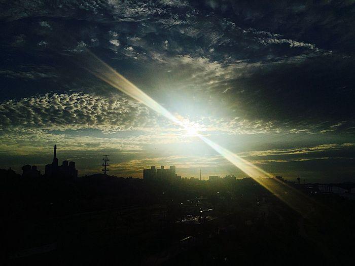 Nature On Your Doorstep Sunset Beautiful Sunset Sky Clouds And Sky