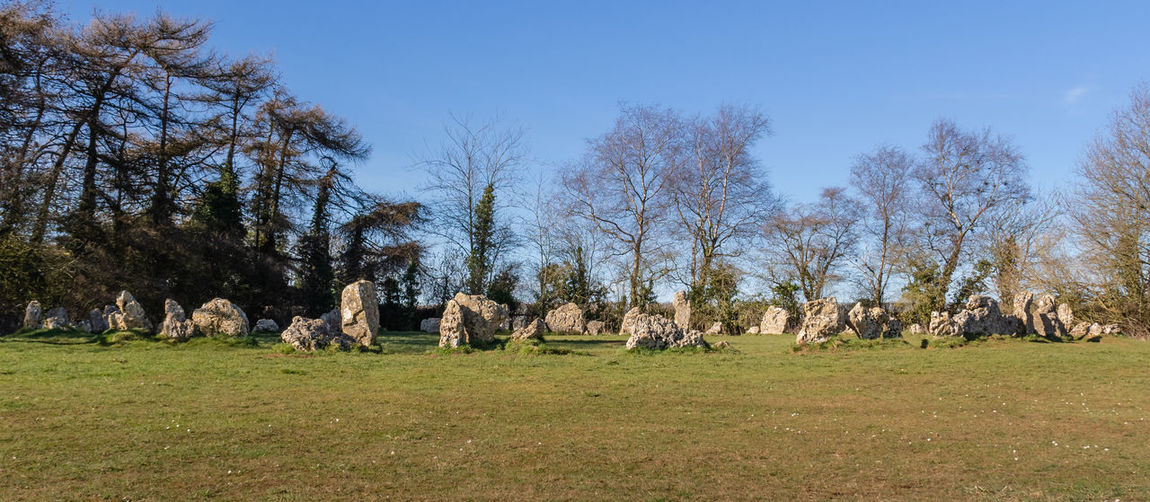 No People Nature Day Landscape Sky Land Rollright Stones Neolithic Stones Stone Circle