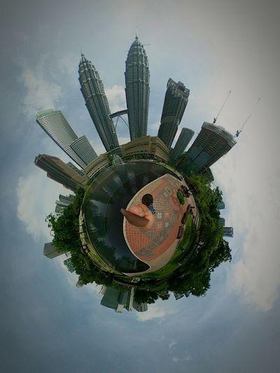 Kuala Lumpur Theta360 KLCC Tower Klccpark