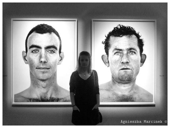 Blackandwhite Photography GalleryOfModernArt Taking Photos Portrait Of A Woman