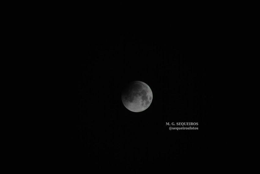 Eclipse lunar Coruña Eclipse Lunar Luna