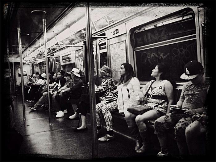 The Explorer - 2014 EyeEm Awards NYC Subway Mta J Train