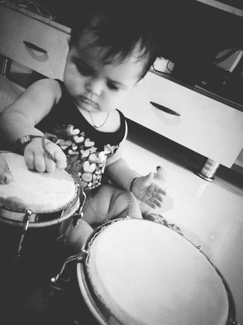 She is adorable Kiddo Bongo Drum