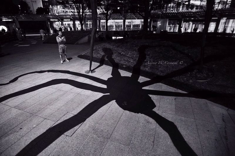 Night time snack Osanpo Camera Monochrome Streetphotography A.W.C. Streetphotography
