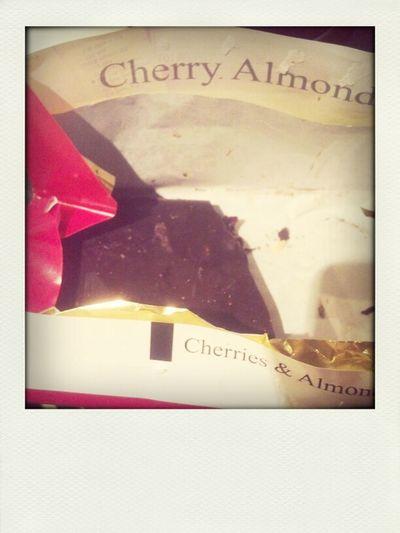 birthday chocolate.