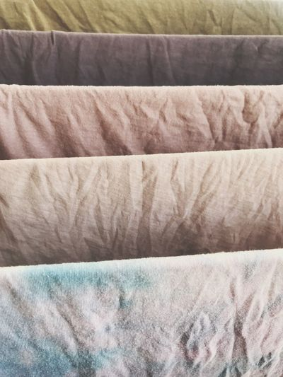 Full Frame Textile Backgrounds Pattern No People Close-up Still Life Wrinkled Material