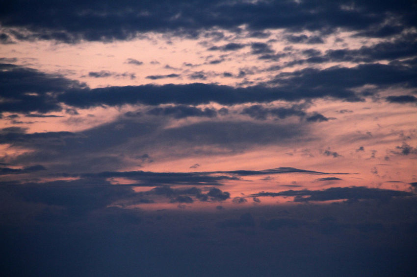 Atmospheric Mood Backgrounds Beauty In Nature Cloud - Sky Cloudscape Dramatic Sky Environment Idyllic Low Angle View Majestic Nature No People Outdoors Pink Sky At Night Scenery Scenics Silhouette Sky Sky Only Sunset Tranquil Scene Tranquility