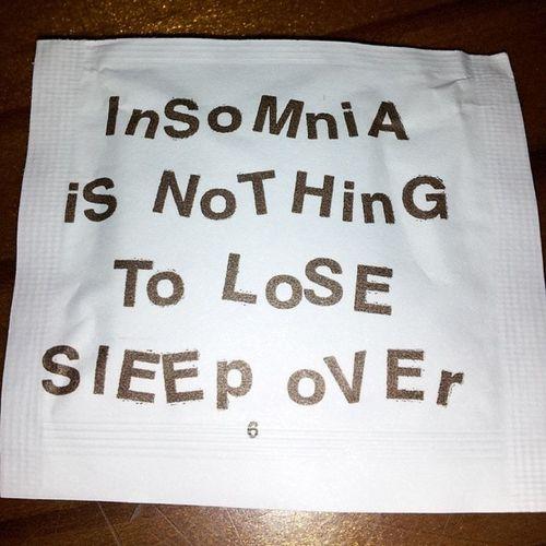 Sleepy insomniac TeamNoSleep Hooters Wetnaps Insomnia