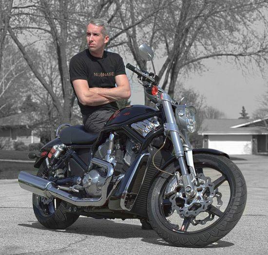 Taking Photos Motorcycles Harley Davidson Vrscr That's Me