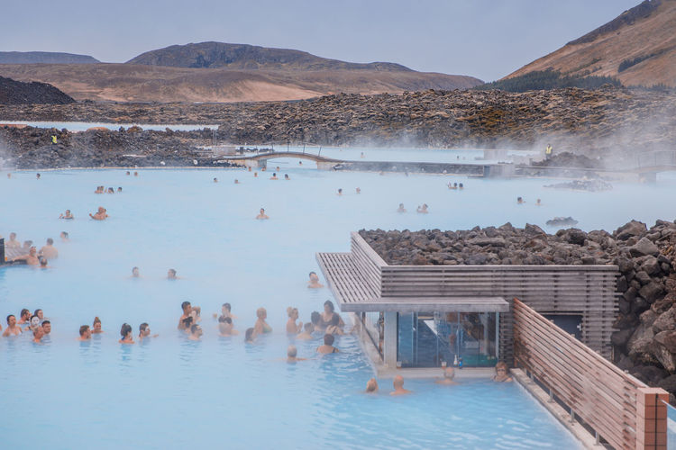 Blue Lagoon in Iceland Iceland Исландия Waterfall Nature Travel Family Travels Blue Lagoon Water Day Outdoors Healty Space Spa Spa Day  Treatment Room  голубая лагуна