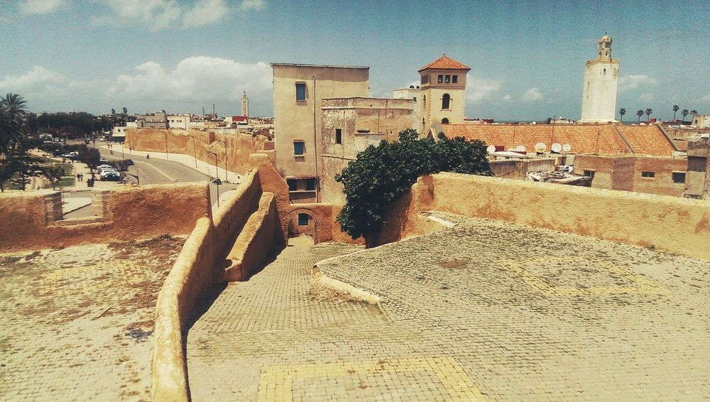 Taking Photos Hanging Out Mazagan Morocco Old Old Buildings Architecture History Historic Composition