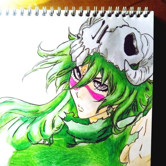 Art Anime Drawing Bleach Nelliel Anime Drawing Animegirl