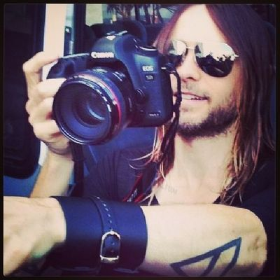Happy Birthday to one of my favorite rockstars, Jared Leto!!! I cannot believe you're 42. Jesus. Thank you for all the lessons and the dreams come true! I love you! Thanks for making this one of the best years of my life. ♥ JL Bday Love Echelon tstm mars life music (credit to owner)