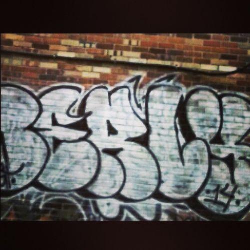 Streetart Art Graffiti Tag Downtown Cheytown Wyoming Alley Outandabout Berly
