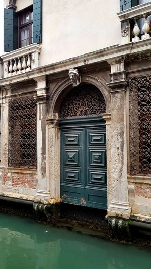 Facade of old building