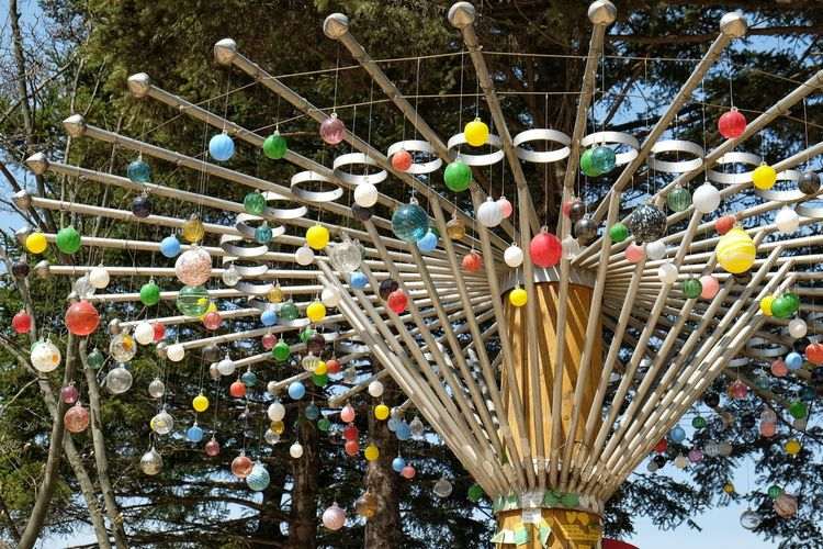 One of many beautiful decorations found at Nami Island, South Korea Abundance Arrangement Backgrounds Choice Coloredbulb Day Decoration Equipment Group Of Objects In A Row Large Group Of Objects Machinery Metallic Multi Colored Namiisland No People Outdoors Repetition Side By Side South Treeofbulb Variation