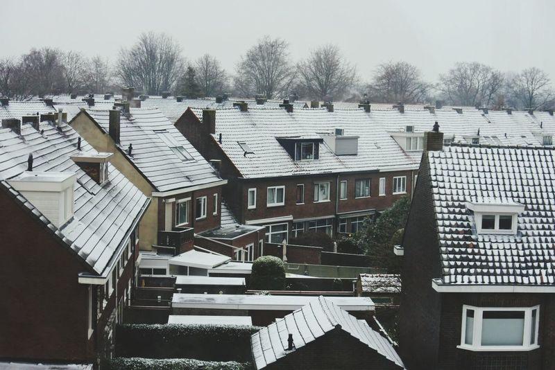 Snow Covered Rooftops EyeEmNewHere Neighbourhood Nikkon