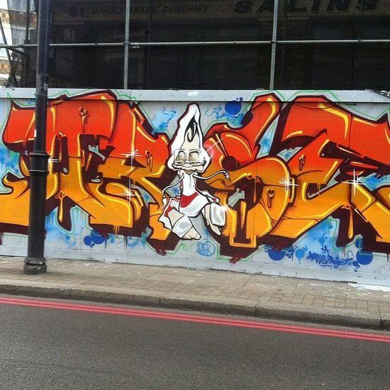 Graffiti Art Streetart London City Drivehome Drive Shoreditch