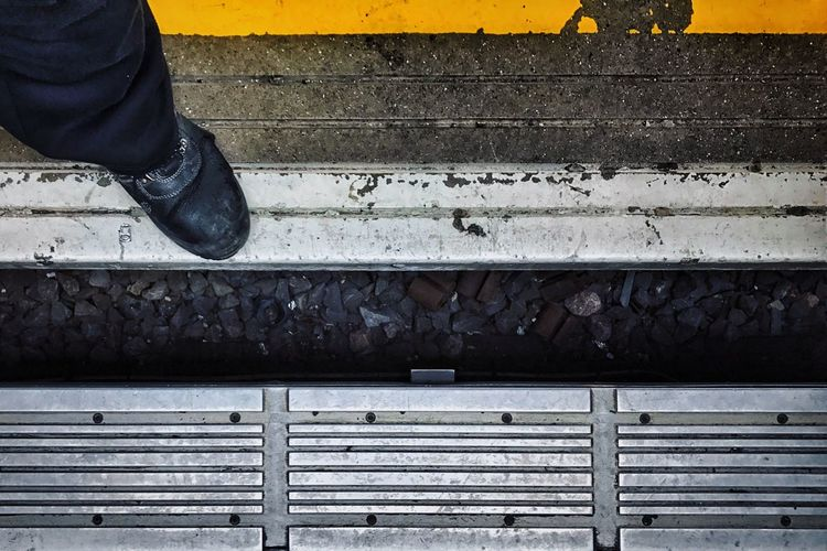 Steps Human Leg Human Body Part Low Section Shoe One Person Real People Outdoors Day Close-up People Adult Adults Only Mind The Gap Please Mind The Gap