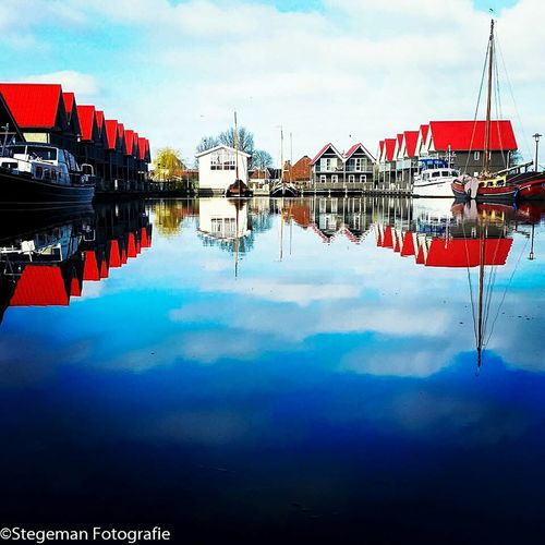 My Country In A Photo Nederland Water Reflections Reflections Pictureoftheday Friesland Howmanylikescaniget HowManyLikes