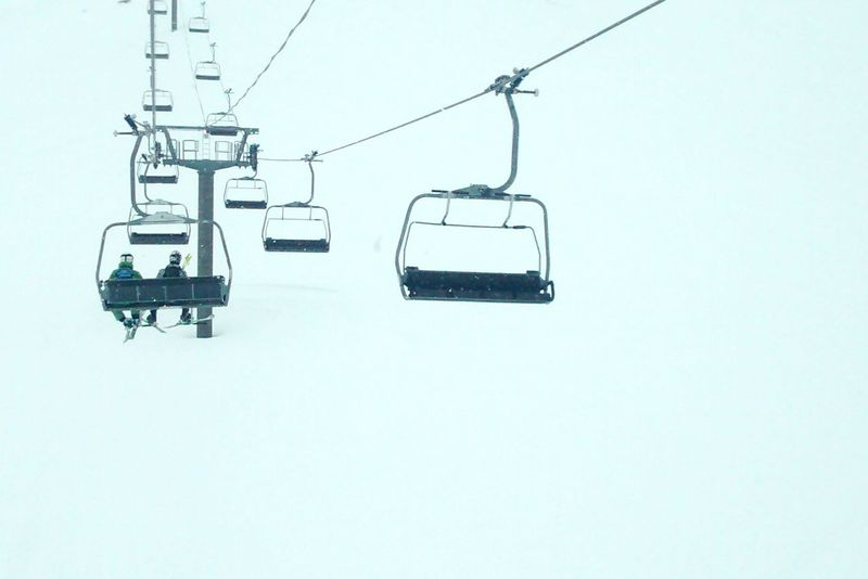 Skiing Summit Snow Chairlift Holiday Landscape Mountains Negative Space Cold EyeEm Best Shots