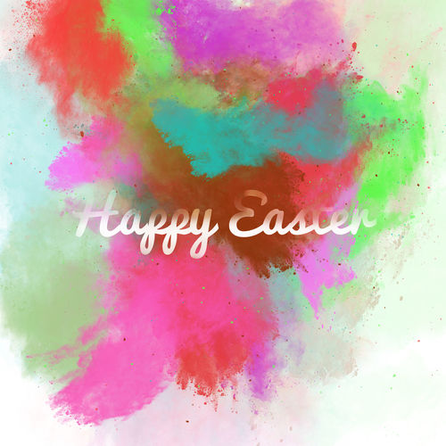Happy Easter greeting card on a colorful watercolor background. Bright colors. Digital art Art ArtWork Background Bright Colors Celebration Collage Colorful Creative Design Digital Art Digitally Easter Greeting Card  Happy Easter Illustration Letter Lettering Multicolored Pascha Religious Holiday Seasonal Springtime Text Textured  Watercolor