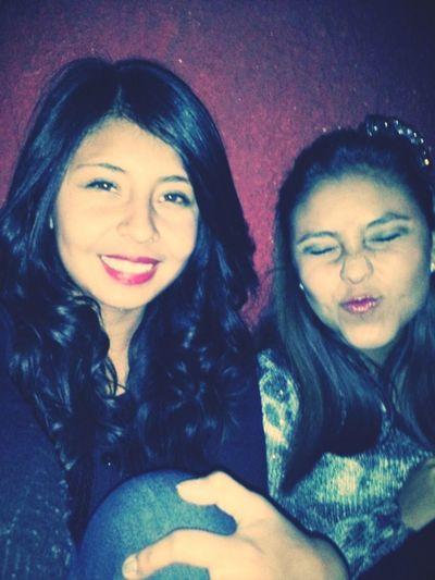 Nuestras Caras jaja Party Time Con Mi Mejor Amiga <3 La Amo Que Noche<3