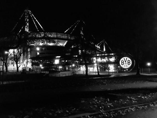 Borussia Dortmund Signal Iduna Park Transportation Architecture No People Built Structure Building Exterior