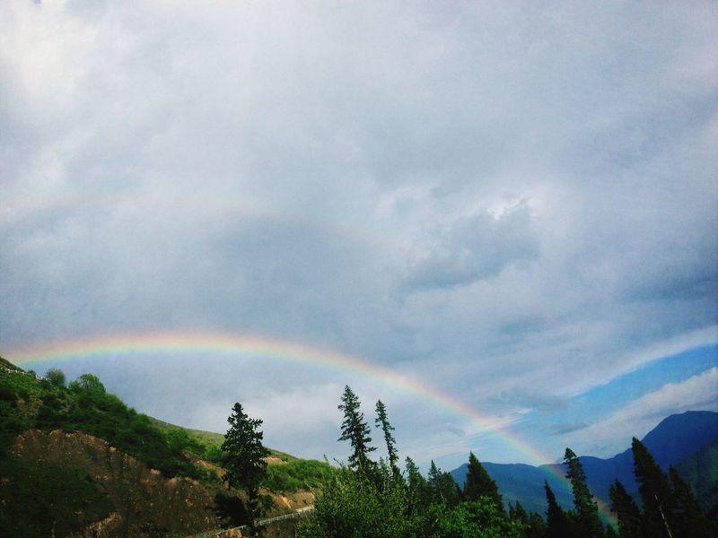 Double rainbow!~