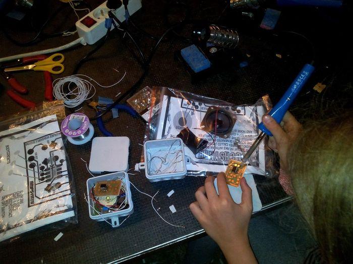 Kits de soudures pour les filles Cccamp15 CCCamp