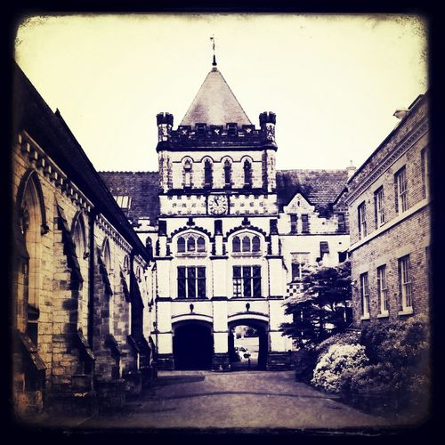 The beautiful, very old Tonbridge School for boys.. Artistjodygilby Tonbridge Art Artist Residency